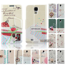 Korean Style Magnetic Flip Leather Case Cover Stand for Samsung Galaxy S4 I9500