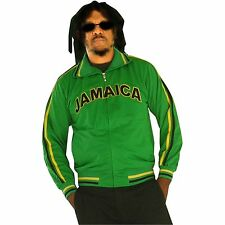Jamaica Reggae Boys Usain Track Football Soccer Jacket Reggae Marley Kingston JA