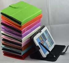 """Colorful Magic Leather Case+Stylus For 7"""" ARNOVA 7h G3/7f G3/7 G2/7c G2 Tablet"""