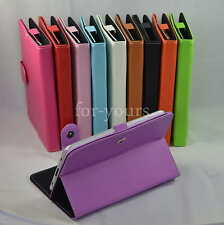 "Colorful Magic Leather Case+Stylus For 9.7"" Le Pan TC 970/S TC978/II TC979 Tab"