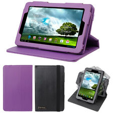 """Leather 360° Rotating Swivel Cover Stand Case For Asus FonePad ME371MG 7"""" Tablet"""