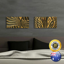 """Tree of Life"" Mix and Match Wood Carving Wooden Wall Art Hanging Panels"