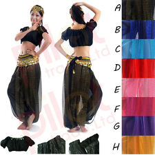 belly dance Costume Danse Orientale Danse du ventre haut pantalon Ensemble