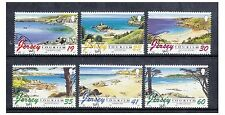Jersey - 1996 Tourism. Beaches set - F/U - SG 752/7