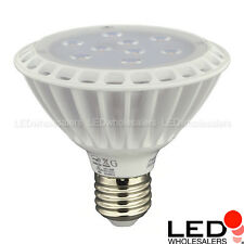 UL PAR30 Short Neck 11-Watt LED Spot Light Bulb with Interchangeable Flood Lens