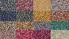 11/0 Japanese Toho Takumi Seed Beads - 15% Larger Holes - 17 Colors Listing B