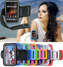 Running Jogging Sports Gym Armband Case Cover Pouch for Sony Xperia Z L36H #BB