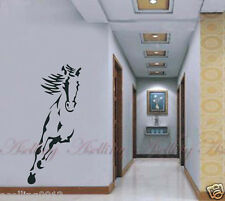 Wild Animal Running Horse Wall Stickers Decal Sitting Room Entrance-hall Decor