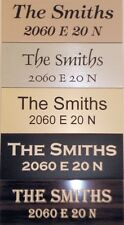 MAILBOX Sign / Plaque Laser-Engraved From Quality Outdoor UV rated Signage