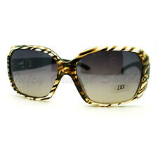 Zebra Print Sunglasses Womens Square Designer Fashion Shades DG