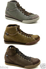 Men Caterpillar Cat Jed Mid Leather Lace Hi Top Trainers Boots Shoes Size 6-11