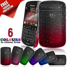 3D Crystal Rain Drop Petterned Case Cover For Blackberry Bold 9900 Screen Film