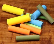 FOAM CYLINDERS for POPPER BODIES by RIVER ROAD -- Fly Tying Cylinder