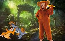 Cheeky Monkey & Banana fancy dress up BNIP 2-12yrs Jungle Book Week DLX Costume