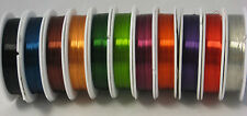 22 GAUGE COPPER COLORED CRAFT WIRE BEAD WRAP JEWELRY