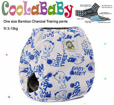 New 1 Coolababy One size Bamboo Charcoal Pull up pants with 1 insert
