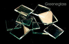 Clear Smooth Mosaic Glass Tile * Cut to Order Shapes * Half Package