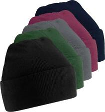 Supersoft Beechfield B45 Acrylic Turn-Up Beanie Hat - Discounted Bulk Quantities