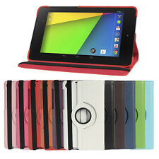 Rotatable Leather Case Cover Stand for 2013 ASUS Google FHD Nexus 7 2nd 2Gen -UK