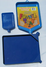 CHOOSE FUNNEL TRAY BLUE PLASTIC BEADING TOOL BEADS GLITTER CRAFT