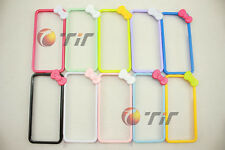 New cute Butterfly Bow Bowknot Hard Bumper Frame cover case for iPhone 4 4S 4G