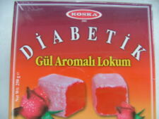 Diabetic Light Sugar Free Turkish Delight,Rose Hazelnut Strawberry KOSKA, 250 g