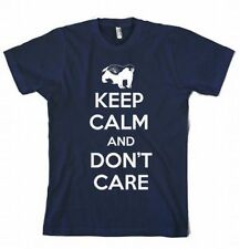 Honey Badger Keep Calm And Don't Care T-Shirt Carry On YouTube Video Graphic Tee