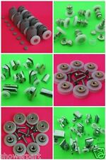 Set of 8 Shower Door Rollers / Runners / Wheels 19mm 23mm 25mm 27mm in diameter