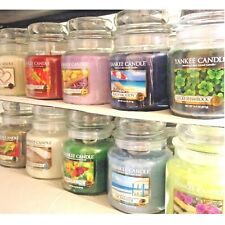 (A-K Scent Choices) Yankee Candle 14.5 oz MEDIUM JAR CANDLES Variety of Choices