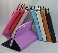 """Colorful Magic PU Leather Case Cover+Stylus For 10.1"""" Kobo Arc 10HD Tablet PC"""