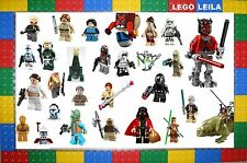 LEGO STAR WARS MINI FIGURES. BRAND NEW 2014 LEGO FIGURES, CHOOSE YOUR OWN! LOT 2