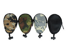 For Outdoor Activities Waterproof Camouflage Key Bag Pouch Keychain Holder Case
