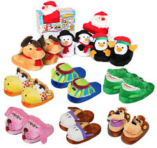 Children's MAGIC MOVERS Animated Slippers Come Alive When You Walk! 10 Designs