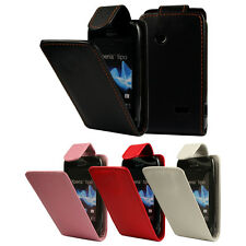 FLIP PU LEATHER FLIP CASE COVER FOR THE SONY XPERIA TIPO ST21i !!