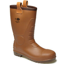 MENS DICKIES GROUNDWATER SAFETY WELLIES WORK BOOTS WELLINGTONS FW13200 UK 6 -12