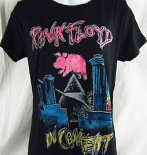 Women's Jr's Pink Floyd in Concert Rock and Roll Graphic T shirt Size L XL