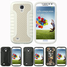 For Samsung Galaxy S4 SIV S IV Design Tuff Impact Armor Hybrid Hard Case Cover