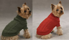 East Side Collection Basic Cable Knit Dog Sweater Dog Sweaters - Clearance Sale