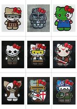 Tactics Kitty Morale Embroidery Velcro Patch Zombie Top Gun Crusader Mogwai