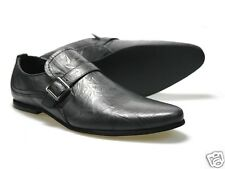 Red Tape Harket Mens Dark Grey Leather Shoes UK size 7 - 11 RRP £55 Free P&P!