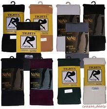 Nu & Nu Tights With Spandex Pantyhose Leg Wear Queen Size Choose Your Color