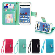 IZENGATE Samsung Galaxy S2 T989 T-Mobile Wallet Case PU Leather Flip Cover Folio