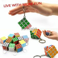 Popular Rubik's Cube Puzzle Magic Game Key Chain Fashion Carrying Playing