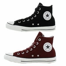 New Converse Trainers CT All Star Suede Hi Mens Ladies Shoes Size UK 4-8