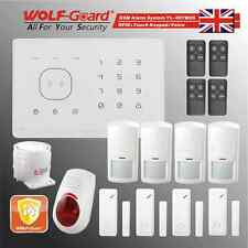 RFID Touch keypad Voice Wireless GSM Security Alarm System WOLF-GUARD M2G-E