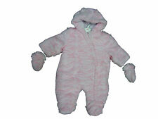 Baby Girls  Hooded Cute  Furry Snow Suit Ex-Chainstore