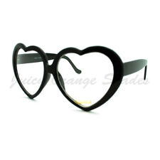 Heart Shape Eyeglasses Cute Oversized Love Clear Lens Fashion Glasses