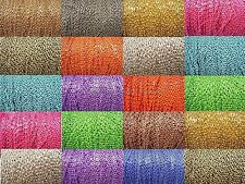 Wholesale 5m/100m Cable Open Link Iron Metal Chain Findings For Necklace Making