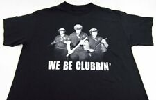Mens NEW Spencers We Be Clubbin' Police Black Short Sleeve T-Shirt Size L XL 2XL
