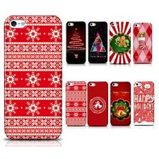 Hot PC Santa Claus Christmas Tree Phone Hard Case Cover for Iphone 4 4S 5 5S #XM